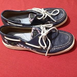 SPERRY TOP SIDER  Navy  Leather  Shoes 5,5M